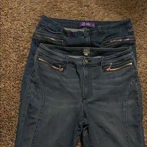 SohoJennifer Hudson skinny jeans